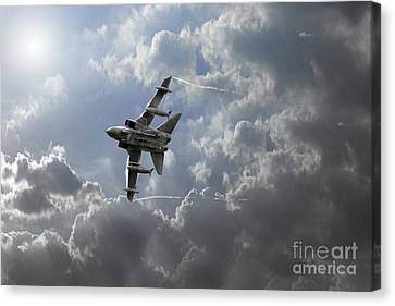 Air Superiority Canvas Print by J Biggadike