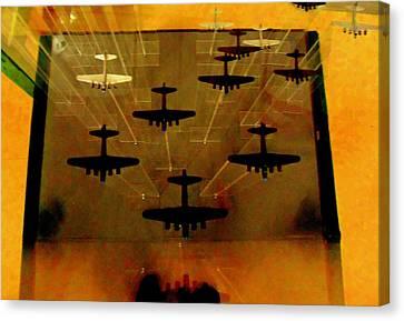 Air War Canvas Print by Randall Weidner