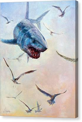 Airborne Canvas Print