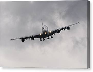 Airbus A380 Canvas Print by Dutourdumonde Photography