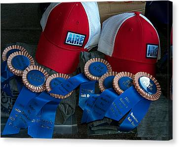 Aire Cap Prizes Canvas Print by Britt Runyon