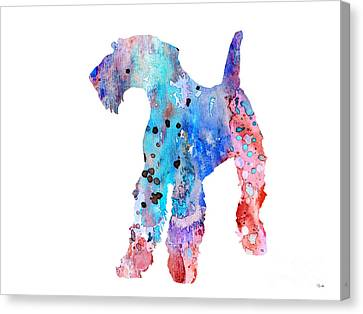 Airedale Terrier  Canvas Print by Luke and Slavi