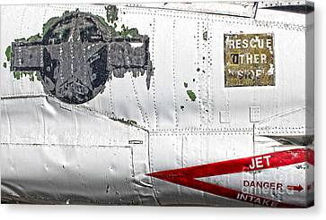 Airplane - 15 Canvas Print by Gregory Dyer