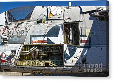 Airplane Graveyard - 07 Canvas Print by Gregory Dyer