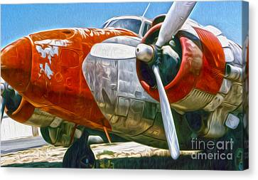 Airplane Graveyard - 21 Canvas Print by Gregory Dyer