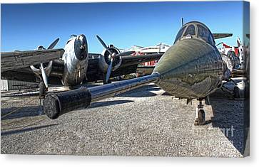 Airplane Graveyard - 03 Canvas Print by Gregory Dyer