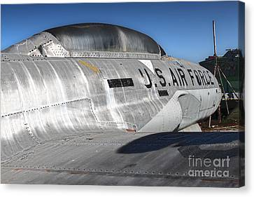Airplane Graveyard - 04 Canvas Print by Gregory Dyer