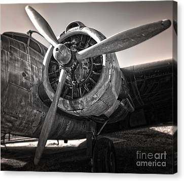 Airplane Propeller - 05 Canvas Print by Gregory Dyer
