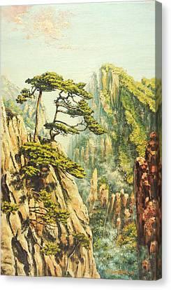 Airy Mountains Of China Canvas Print by Irina Sumanenkova