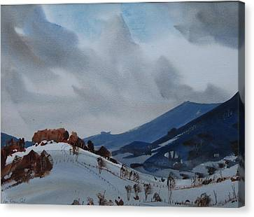 Airyhill Canvas Print by Len Stomski