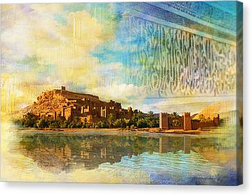Ait Benhaddou  Canvas Print by Catf