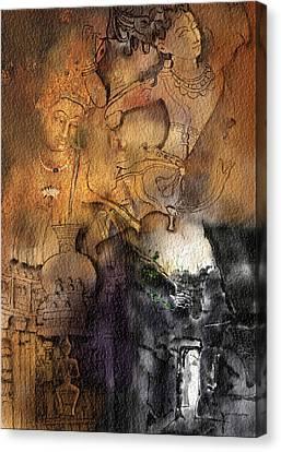 Ajantha Canvas Print by Nm