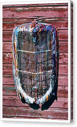 Aj's Grille Canvas Print