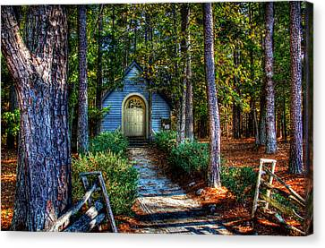 Ajsp Chapel Canvas Print by Andy Lawless