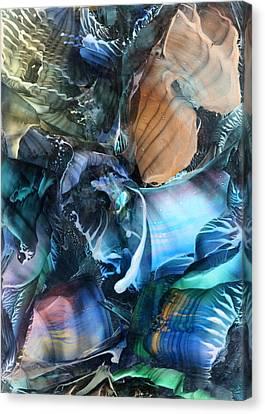Akashic Memories From Subsurface Canvas Print by Cristina Handrabur