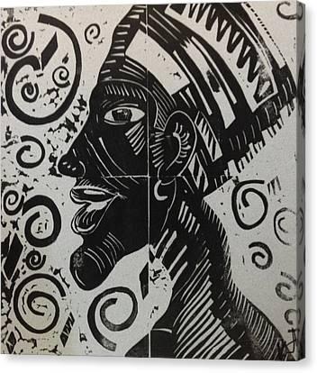 Akhenaten Canvas Print by Susan L Sistrunk