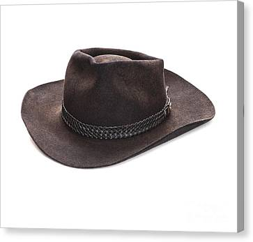 Akubra Hat Canvas Print by Colin and Linda McKie
