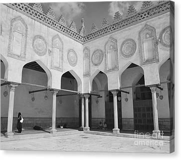 Al Azhar Mosque Cairo Canvas Print by Nigel Fletcher-Jones