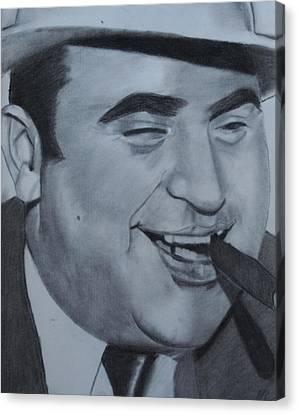 Al Capone Canvas Print by Aaron Balderas