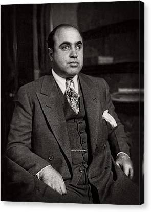Al Capone - Scarface Canvas Print by Doc Braham