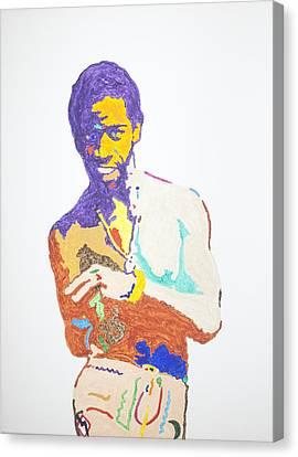 Al Green Canvas Print by Stormm Bradshaw