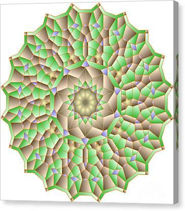 al Haleem Pattern Canvas Print
