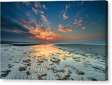 Al Hamra Sunset Canvas Print