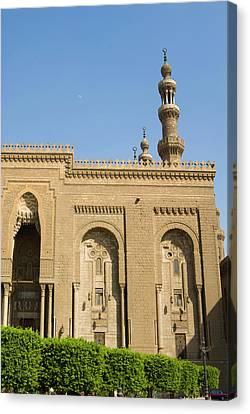 Al Refai Mosque, Cairo, Egypt, North Canvas Print by Nico Tondini