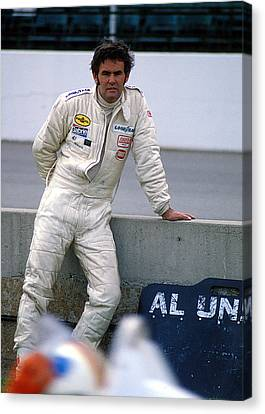 Al Unser At Indy Canvas Print