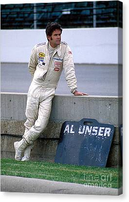 Al Unser Sr. At Indy Canvas Print