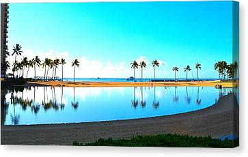 Peaceful Reflections Canvas Print