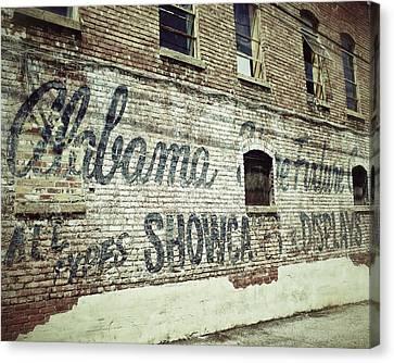 Alabama Fixture Canvas Print by Brandon Addis