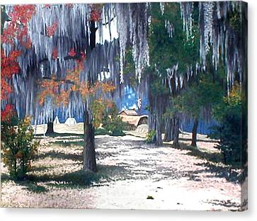 Alabama Fort Jackson Canvas Print by Beth Parrish