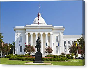 Alabama State Capitol Building Canvas Print by Ohad Shahar
