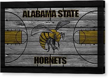 Alabama State Hornets Canvas Print by Joe Hamilton