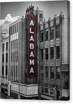 Alabama Theater Canvas Print by Fred Baird
