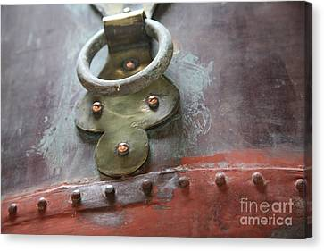 Canvas Print featuring the photograph Alambic Brass Detail by Lynn England