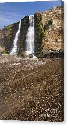 Alamere Falls On Crisp Day Canvas Print by Matt Tilghman