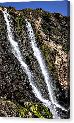 Alamere Falls Two Canvas Print by Garry Gay