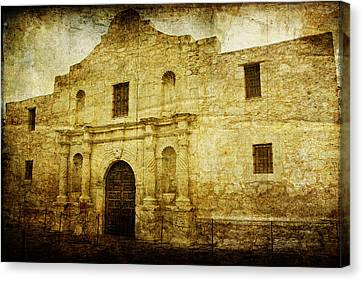 Alamo Remembered Canvas Print by Lincoln Rogers