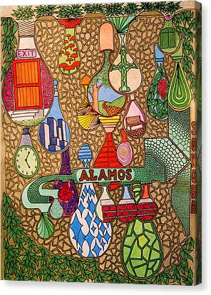Alamos Lights Canvas Print