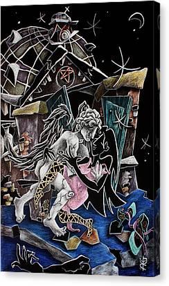 Musica Canvas Print - Alas De Tango - Musica Leon Gieco - Contemporary Art Venice by Arte Venezia