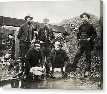 Alaska Gold Rush, 1890s Canvas Print by Granger