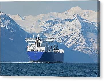 Alaska, Prince William Sound, An Empty Canvas Print by Hugh Rose