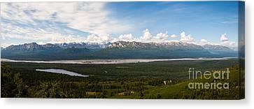 Alaska Range Canvas Print by Chris Heitstuman