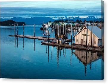 Alaska Seaplanes Canvas Print by Mike Reid