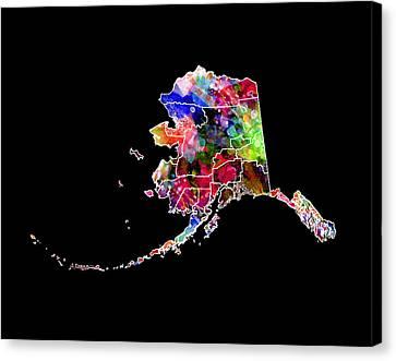 Alaska State 2 Canvas Print by Daniel Hagerman