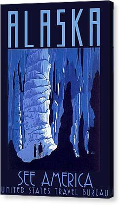 Alaska Canvas Print by Steven Boland
