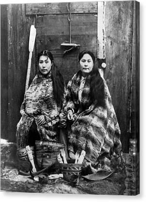 Alaska Tlingit Women, C1900 Canvas Print by Granger