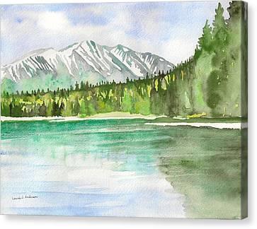 Alaska View Canvas Print